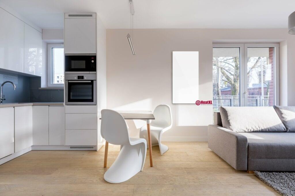 infrarood panelen prijzen woonkamer infrarood verwarming wand wit