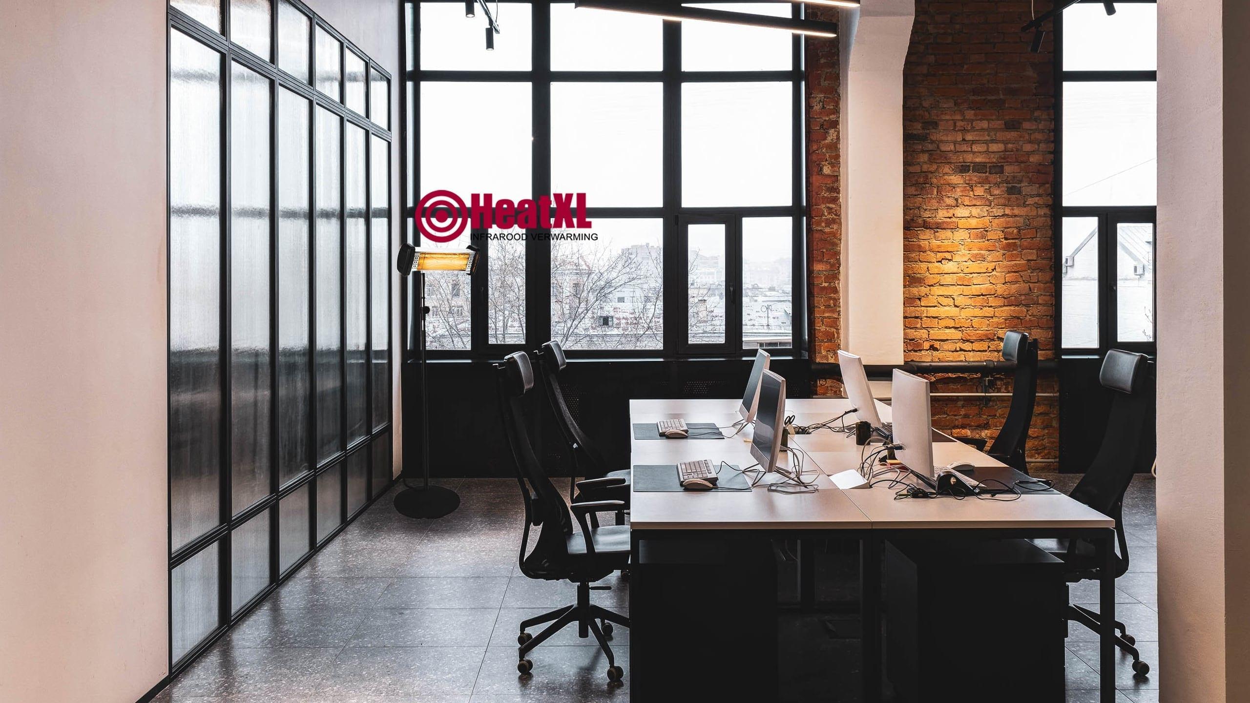 Mobiele kachel kantoor en thuis df