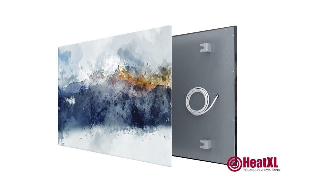 infrarood paneel schilderij