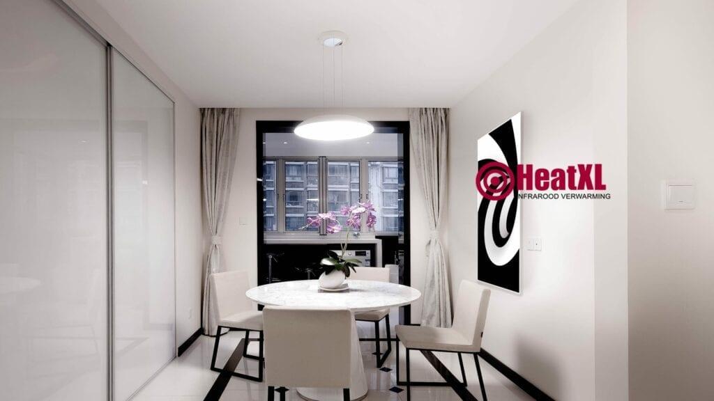 3d infraroodpaneel eetkamer woonkamer design verwarming